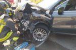 Incidente a Spadola, le foto delle auto dopo l'impatto