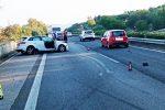 Incidente sulla Messina-Catania a Nizza di Sicilia, coinvolti tre mezzi: feriti e lunghe code