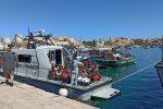 """Sbarchi senza sosta a Lampedusa, 14 """"barchini"""" arrivati nelle ultime ore con a bordo 250 migranti"""