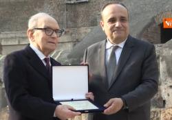 Morte Morricone, quando venne premiato al Colosseo L'addio al maestro Premio Oscar - Agenzia Vista/Alexander Jakhnagiev