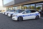 Nissan Leaf elettriche per polizia locale e sindaco L'Aquila
