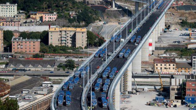 crollo, inaugurazione, ponte, Giuseppe Conte, marco bucci, Paola De Micheli, Sicilia, Economia