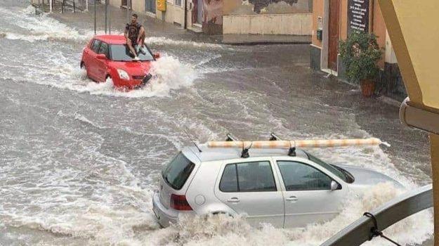 bomba d'acqua, maltempo, Sicilia, Cronaca