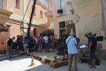 A Tropea le riprese del corto di Muccino sulla Calabria con Raoul Bova e Rocio Muñoz Morales - Foto
