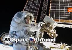 Spazio, passeggiata spaziale per il cambio di batterie della Stazione orbitante internazionale Due astronauti hanno volteggiato all'esterno della ISS - Agenzia Vista/Alexander Jakhnagiev
