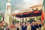 Quando Guareschi difese la statua della regina Elena, 60 anni fa l'inaugurazione a Messina