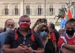 Torino, l'urlo dei metalmeccanici: «Europa e Governo ci diano soldi per salvarci» Crisi già prima della pandemia, a rischio oltre 150 mila lavoratori dell'automotive - Ansa