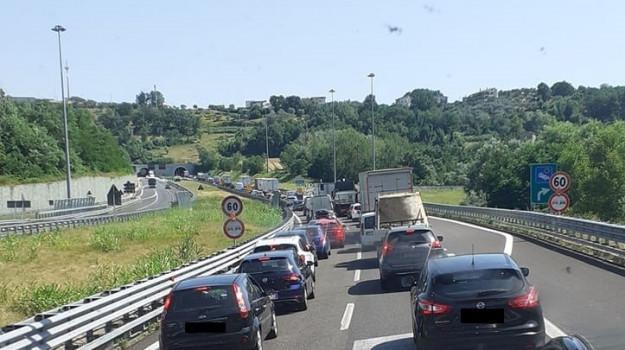 tir, traffico, Cosenza, Calabria, Cronaca