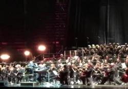 """Ultimo concerto all'Arena di Verona di Ennio Morricone Le note di """"Mission"""" e """"Nuovo cinema Paradiso"""" chiudono il live - Corriere Tv"""