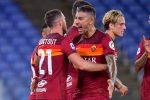Roma vince 2-1 di rigore sulla Fiorentina: la Lazio piega 5-1 il Verona e aggancia l'Atalanta