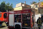 Fiamme nella cucina di un ristorante a Tropea, intervengono i pompieri
