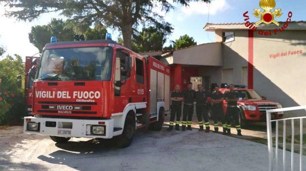 vigili del fuoco, Catanzaro, Calabria, Cronaca