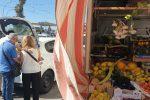 Messina, pugno duro del Comune contro l'ambulantato: sequestri e sanzioni, tensioni a Minissale