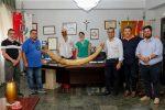 Santa Teresa di Riva, donata una zanna di elefante al Comune ma è polemica