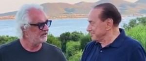 Briatore positivo al Coronavirus, il video con Berlusconi