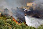 Altra giornata di incendi nel Cosentino, le fiamme minacciano le case a Dipignano