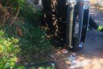 Incidente sulla SS113 verso Rodia, auto sbanda e si ribalta: ferita una passeggera
