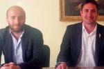 Il vicesindaco Pietro Matacera e il sindaco Ernesto Alecci