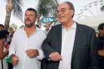 Matteo Salvini e Antonino Minicuci
