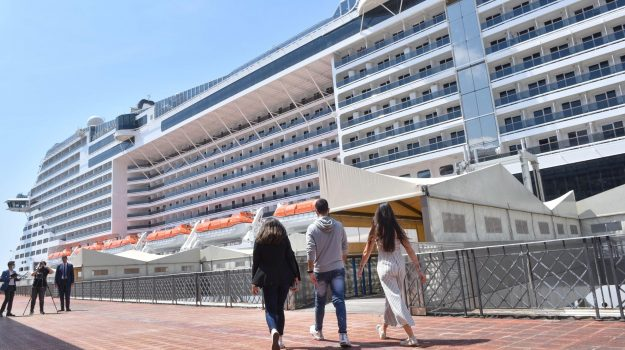 crociere, turismo, Messina, Sicilia, Economia