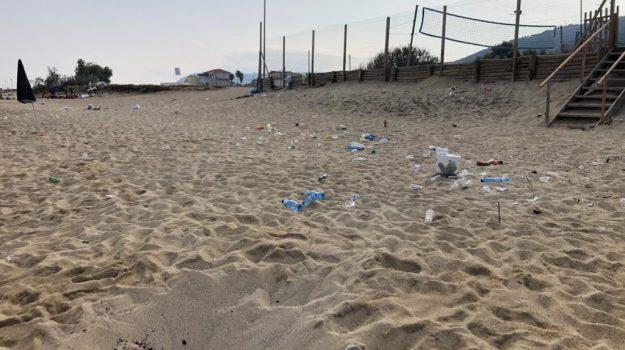 rifiuti, spiagge, Antonio Repucci, Catanzaro, Cronaca