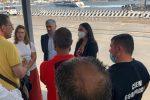 A Messina incontro al porto fra i lavoratori Blu Jet e il sottosegretario Traversi
