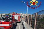 Catanzaro, minaccia di suicidarsi lanciandosi dal Viadotto Morandi: salvato
