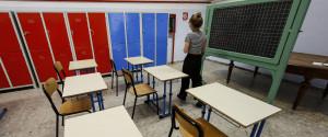 Le aule dovrebbero rimanere vuote sino al 31 gennaio