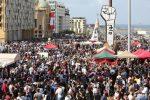 Beirut, scene di guerriglia urbana nel centro città: scontri nelle vie laterali