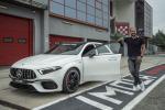 Bottas e Mercedes-AMG A 45 alla scoperta dei segreti di Imola