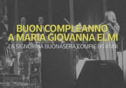 Buon compleanno a Maria Giovanna Elmi: 80 candeline per la «Signorina Buonasera» La carriera della storica annunciatrice Rai - Ansa