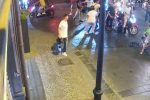 Carabiniere messinese pestato in Campania, il video della violenza