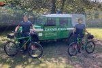 Parco d'Aspromonte, a ferragosto controlli in bici dei carabinieri forestati