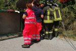 Incidente sulla sp150 tra Cardinale e Simbario, moto ape si ribalta