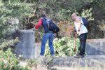 Tante risposte all'appello di Daniele per cercare Gioele, le foto dei volontari a Caronia