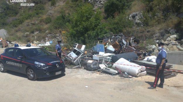 bagnara calabra, discarica, rifiuti, Reggio, Calabria, Cronaca
