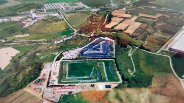 discarica lamezia, rifiuti, Catanzaro, Calabria, Cronaca