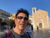 """Edoardo Bennato, selfie da Taormina in attesa del concerto: """"Tanta roba"""""""