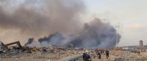 Fortissime esplosioni a Beirut: decine di morti e migliaia di feriti tra cui due militari italiani
