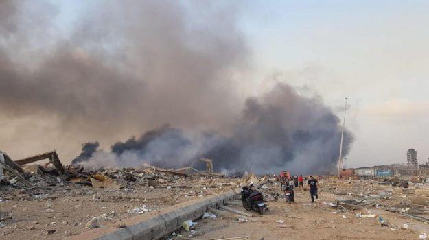 esplosione, libano, Sicilia, Mondo