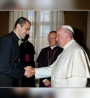 Amaroni festeggia don Fabio Salerno: orgoglio ed emozione per il segretario del Papa