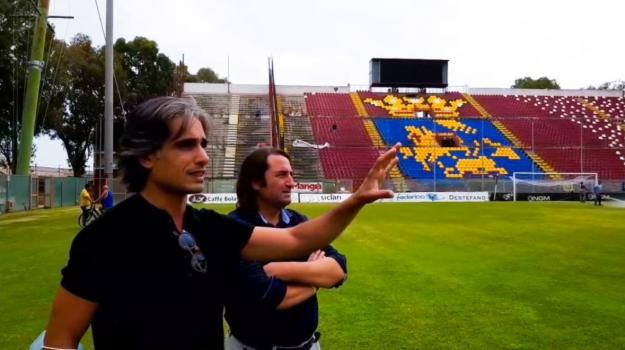 reggina, serie b, stadio granillo, Giuseppe Falcomatà, Reggio, Calabria, Sport