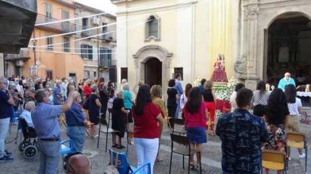 coronavirus, feste della madonna, processione, Antonio Calafati, Catanzaro, Calabria, Cronaca