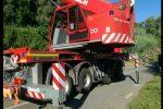 L'incidente mortale sul trattore a Francica, le operazioni di recupero - Foto