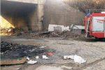 Danno ambientale dopo l'incendio di Vaglio Lise, il fumo rende l'aria irrespirabile