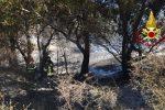 Incendio di arbusti a Sellia Marina, fermato il presunto piromane
