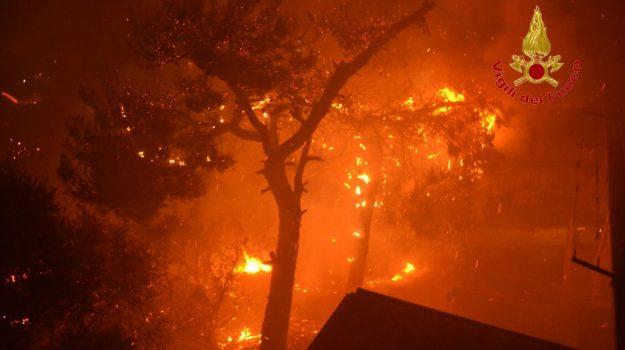 incendio, palermo, trapani, Sicilia, Cronaca