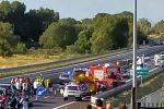 Grave incidente sull'A2 a Montalto Uffugo, una bimba in gravi condizioni: traffico in tilt
