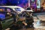 Incidente a Capo Milazzo, auto sbanda e finisce contro un albero