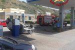 Incidenti ad Amendolara e Cetraro, auto si ribalta e finisce in una stazione di servizio